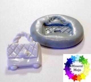 New Handbag Silicone Mould for Fimo, Sugarcraf, Cupcake,Card & Cake