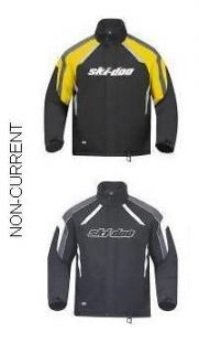 SKI DOO MENS HOLESHOT JACKET NEW YELLOW/BLACK 440514