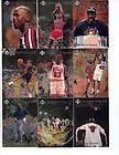 1998 Michael Jordan Upper Deck 3x5 Gold Cards 1 12 Career Tribute