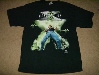 GENERATION DX WWE WRESTLING T SHIRT COLLECTIBLE OUT OF PRODUCTION HTF