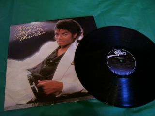 MICHAEL JACKSON Vinyl LP Album Record THRILLER **SHRINK**