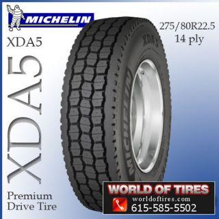 Michelin XDA5 275/80R22.5 22.5 tires semi truck tires 22.5 truck tires