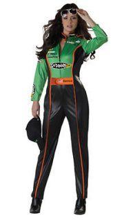 Adult Danica Patrick NASCAR Driver Halloween Costume