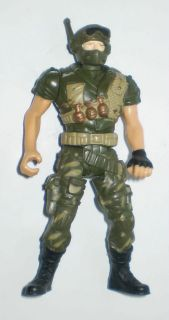 unknown soldier action figure, 3.75 inch, loose, military Chap Mei