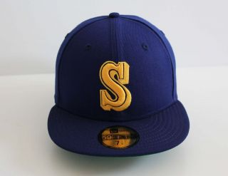 Era 5950  Seattle Mariners 1987 91 COOP CLASSIC   MLB Baseball Cap Hat
