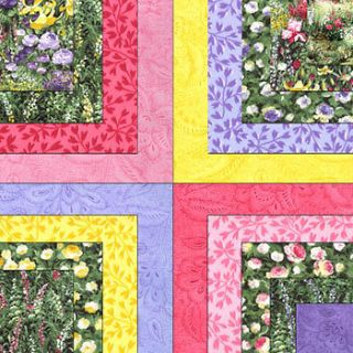GARDEN by Sent Studios MODA Jelly Roll Fabric Strips QUILT Kit