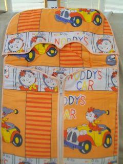 TINI MINI CO. NODDYS CAR ZIPPER BABY SNUGIE TYPE CLOTH ZIPPER