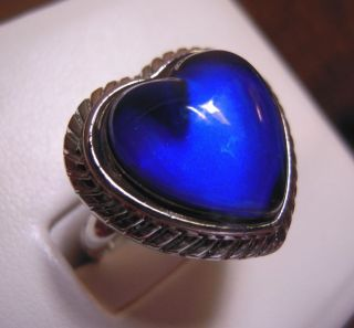 heart mood ring in Rings