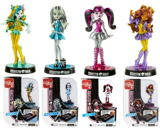 MONSTER HIGH APPTIVITY SET LAGOONA BLUE CLAWDEEN WOLF FRANKIE STEIN