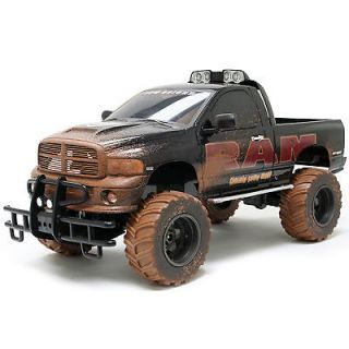 GIGANTIC Dodge Ram Mudslinger Monster Truck 16 Scale   16 Scale
