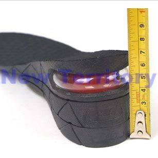 Air Cushion Unisex Height Increase Shoes Pads 3 Layer Inserts Insole