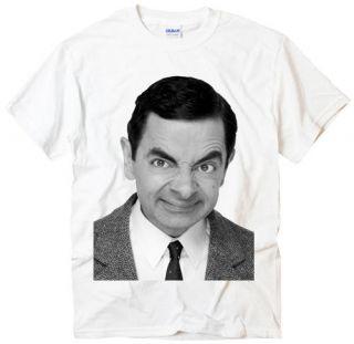 New Mr. Bean British comedy starring photo men white t shirt