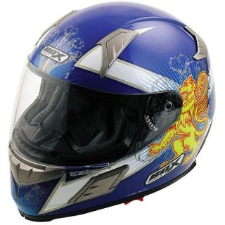 BZ 1 SALTIRE SCOTLAND SCOTTISH FULL FACE MOTORBIKE MOTORCYCLE HELMET