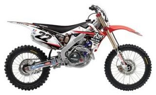 CHAD REED TEAM TWO TWO MOTORSPORTS GRAPHICS KIT CRF250 (10 13) CRF450