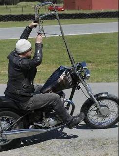 MOTORCYCLE HANDLEBAR RISER RUBBER BLACK BUSHING KIT CUSTOM BOBBER