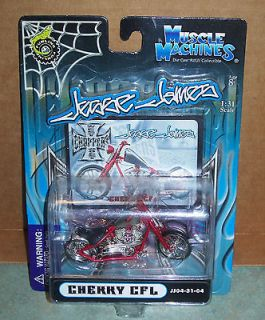 2004 West Coast Choppers Jesse James CHERRY CFL Motorcycle   New In