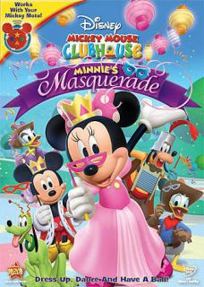 Mickey Mouse Clubhouse Minnies Masquerade (DVD, 2011)
