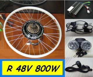 Electric Bicycle Kit Hub Motor Scooters Conversion By Sea 7 8 Weeks