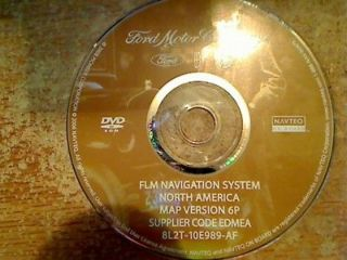 2007 2008 FORD EXPLORER EXPEDITION NAVIGATION DISC DVD