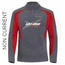 SKI DOO MENS X TEAM FLEECE NEW GRAY SM 2XL 453358