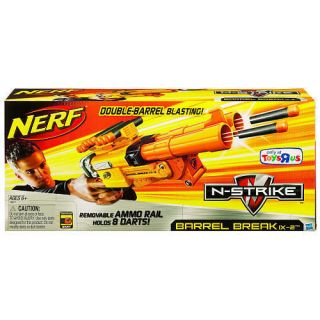 Nerf BARREL BREAK Gun IX 2 N strike Double Barrel Blast