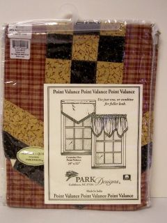 park design valances in Curtains, Drapes & Valances