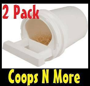 NESTING BOXES WITH 5 GALLON BUCKET & HDWR★ CHICKEN POULTRY NEST