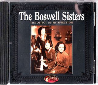 THE BOSWELL SISTERS  Object of My Affection CD (24 of the best songs