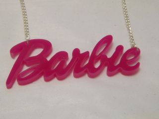 pink barbie necklace in Jewelry & Watches