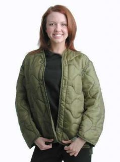 ONE) New EXTRA LARGE Military Surplus Field Jacket Liner ARMY SURPLUS