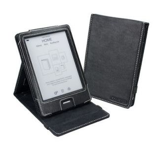 Kobo eReader Touch Edition Black Faux Leather (Inversion Stand) Case