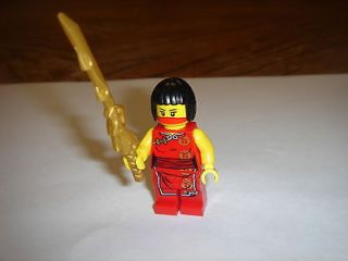 LEGO Ninjago NYA Minifigure GIRL with dragon sword new