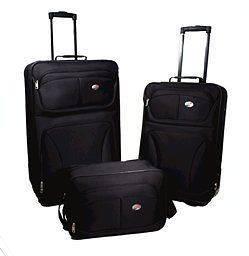 American Tourister Fieldbrook 3 PC Set Black 47231 1041