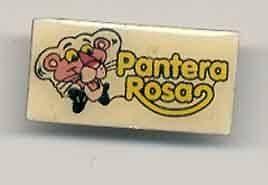 PINK PANTHER Pantera Rosa LAPEL PIN BADGE