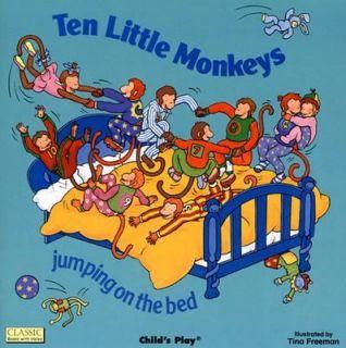 Ten Little Monkeys by Ann Love 2001, Paperback