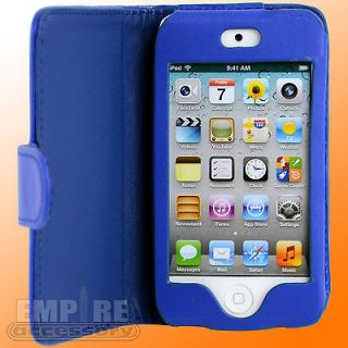 Leather Folding Case For Apple iPod Touch iTouch 4G 4th Gen Generation