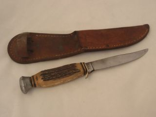 Vintage Wingen Othello Solingen Knife W/ Sheath