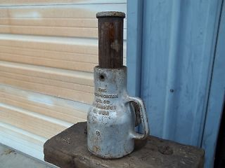 vintage duff norton 25 ton ratchet bottle jack antique railroad