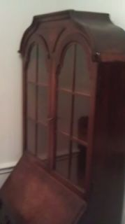 Antique Secretary Desk New York City Circa 1897 Nice Wood  Very nice