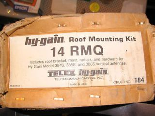 HyGain 14RMQ Roof mounting kit for Verticals New
