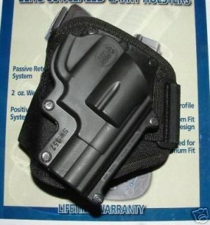 NEW SMITH WESSON S&W J FRAME 357 38 Chiefs Special FOBUS ANKLE HOLSTER