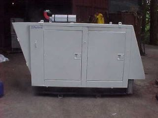 PERKINS DIESEL POWERED 32/60KW GENERATOR, QUIET ENCLOSURE, SINGLE