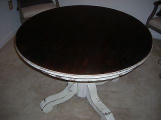 round oak table in Tables