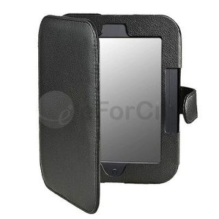 Folio Leather Case Cover Pouch for Barnes Noble Nook Simple Touch