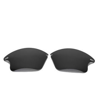 Black Replacement Lenses For Oakley Fast Jacket XL Sunglasses