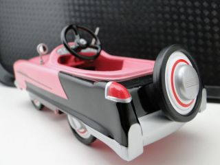 Pedal Car Auto Show Hot Rod Toy 1 24 Rare Vintage Roadster Model