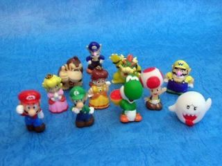 11 pcs New Mini Cute Nintendo Super Mario Bros Figures