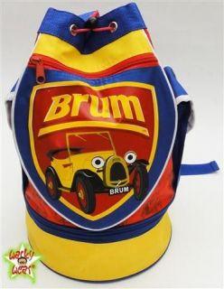 BRUM The Little Oldtimer Cars Backpack Rucksack Bag NW