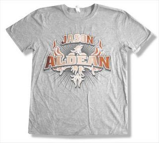 JASON ALDEAN   2011 EVENT COLUMBIA MO GREY T SHIRT   NEW ADULT MEDIUM