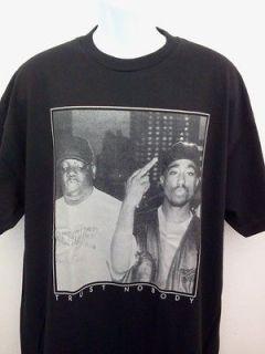 2pac Biggie Smalls BIG Old School Rap Hip Hop T Shirt NEW SIZE SM 2X